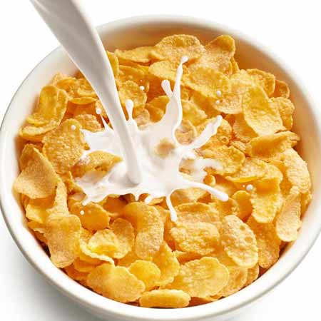 BREAD_CORN-FLAKES-WITH-MILK